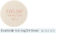Exelon® 4,6 mg/24 timer