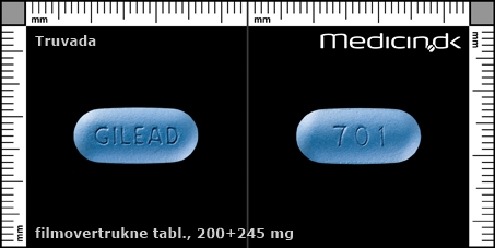 filmovertrukne tabletter 245+200 mg