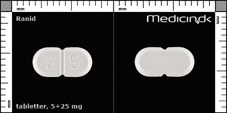tabletter 5+25 mg