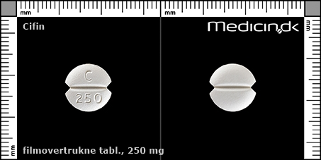 filmovertrukne tabletter 250 mg