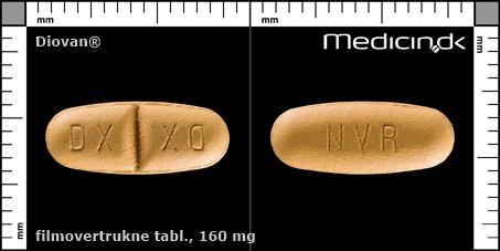 filmovertrukne tabletter 160 mg