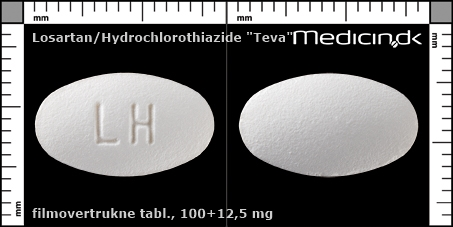 filmovertrukne tabletter 100+12,5 mg