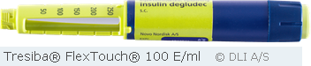 Tresiba® FlexTouch® 100 E/ml