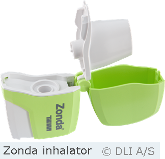 Zonda inhalator