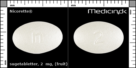 sugetabletter 2  mg (Fruit)