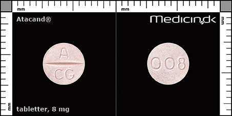 tabletter 8 mg
